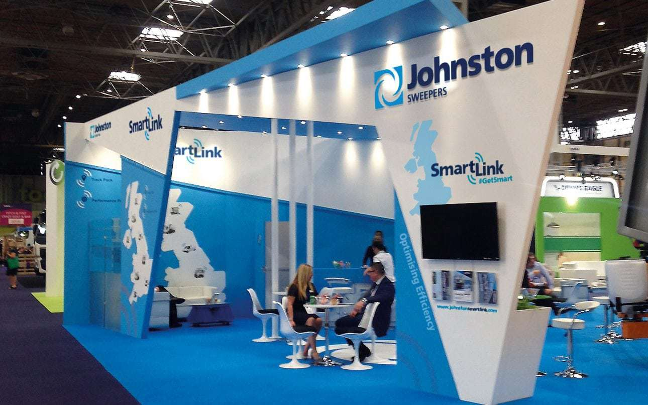 Small Exhibition Stand Goal : Exhibition design and events design creative design agency surrey